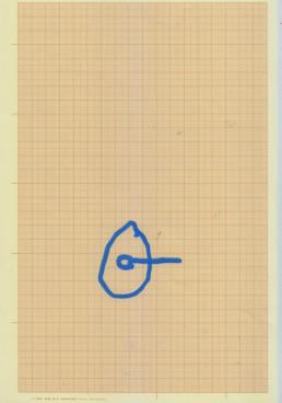 lineas azules sobre papel milimetrado