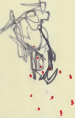 ilustración negro y rojo