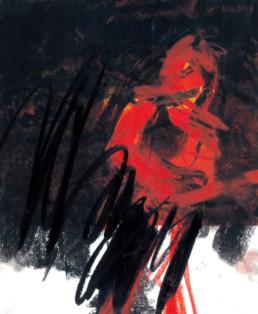 ilustración rojo y negro